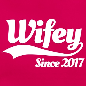 Wifey since 2017 (couples) T-Shirts - Women's T-Shirt