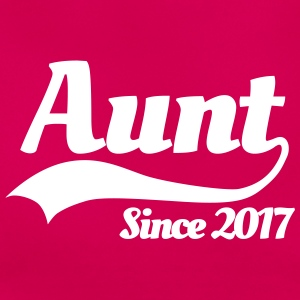 Aunt since 2017 T-Shirts - Women's T-Shirt