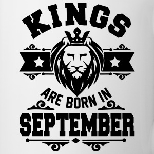 Kings are born in september Mugs & Drinkware - Mug