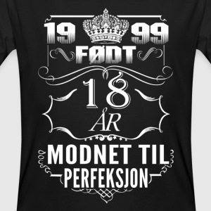 1999 – perfection de 18 ans - 2017 - no Tee shirts - T-shirt bio Homme