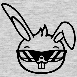 Cool sunglasses head face rabbit hare small cute c T-Shirts - Men's T-Shirt