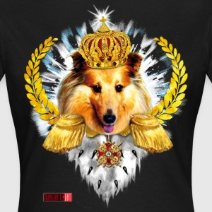 Sheltie King Queen Hund Lorbeerkranz Krone Orden T-Shirts - Frauen T-Shirt