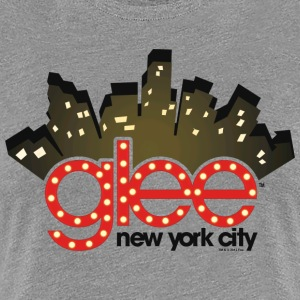 Glee New York City Stage Lights - Camiseta premium mujer