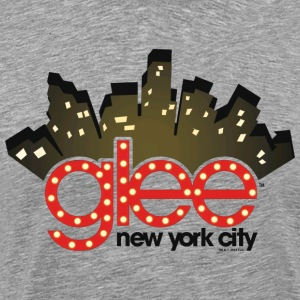 Glee New York City Stage Lights - Men's Premium T-Shirt