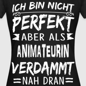 ANIMATEURIN T-Shirts - Frauen T-Shirt