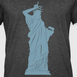 Glee Statue Of Liberty Gesture - Men's Vintage T-Shirt