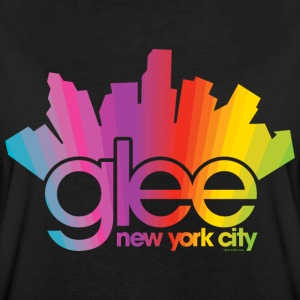 Glee Logo New York City Rainbow - Maglietta ampia da donna