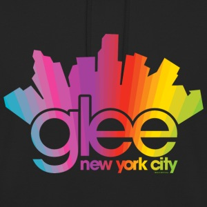 Glee Logo New York City Rainbow - Unisex Hoodie