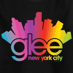 Glee Logo New York City Rainbow - Kids' T-Shirt