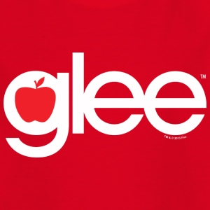 Glee Typography Lettering - Teenage T-shirt