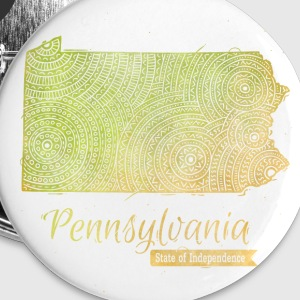 Pennsylvania Buttons & Anstecker - Buttons groß 56 mm