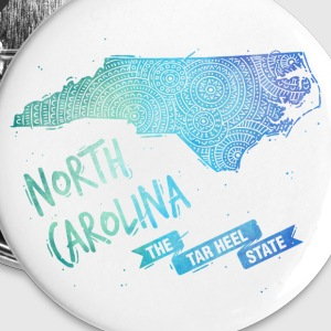 North Carolina Buttons & Anstecker - Buttons groß 56 mm