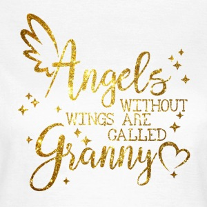 Angels without Wings are called Granny Tee shirts - T-shirt Femme