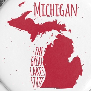 Michigan Buttons & Anstecker - Buttons groß 56 mm