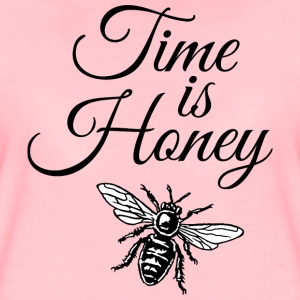 Time is Honey Imker Design (zweifarbig) T-Shirts - Frauen Premium T-Shirt