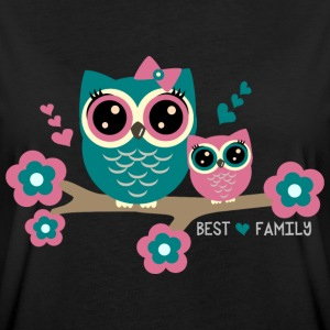 Best Family T-Shirts - Frauen Oversize T-Shirt