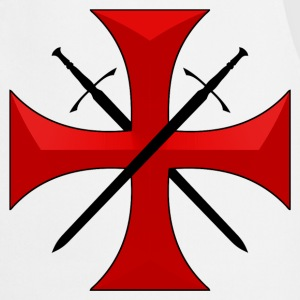 Templar cross and swords Tabliers - Tablier de cuisine