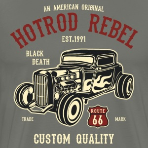 Hot Rod Rebel-1 T-Shirts - Männer Premium T-Shirt