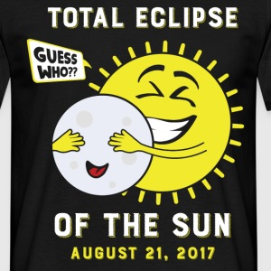 Total Eclipse Of The Sun, Guess Who ? T-Shirts - Men's T-Shirt
