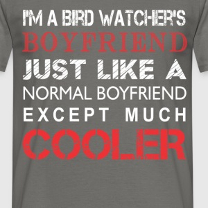 Bird watcher's - I'm a Bird watcher's boyfriend  - Men's T-Shirt