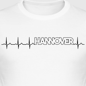 My heart beats for Hannover T-Shirts - Men's Slim Fit T-Shirt