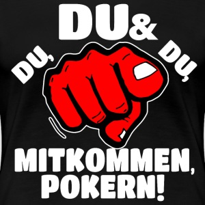 Pokern T-Shirts - Frauen Premium T-Shirt
