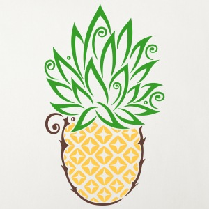 Pineapple, summer, fruits, tattoo style Other - Sofa pillow cover 44 x 44 cm