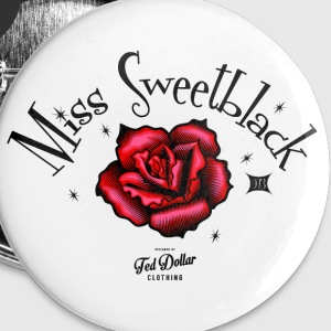 Miss Sweetblack Badges - Badge grand 56 mm