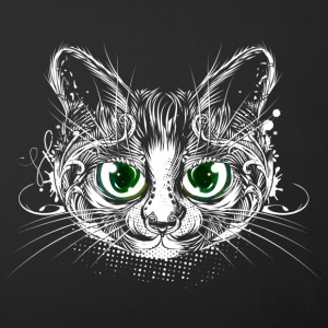 Cute cat with big green eyes Other - Sofa pillow cover 44 x 44 cm