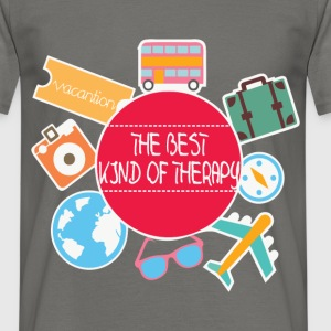Therapy - The best kind of therapy - Men's T-Shirt