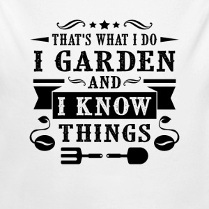 Garden and i know things  Baby Bodys - Baby Bio-Langarm-Body