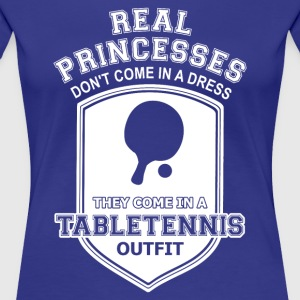 Tabletennis T-Shirts - Frauen Premium T-Shirt