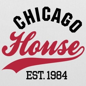 Chicago house est. 1984 Bags & Backpacks - Tote Bag