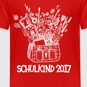 Schulkind 2017 Tasche T-Shirts - Teenager Premium T-Shirt
