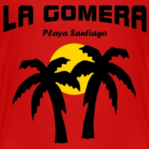 Sunset - La Gomera - Playa Santiago T-Shirts - Teenager Premium T-Shirt