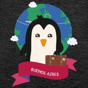 Penguin Globetrotter from BUENOS AIRES Skg1es Tops - Women's Premium Tank Top