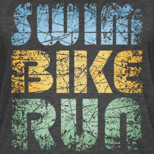 Swim Bike Run - Vintage Edition T-Shirts - Männer Vintage T-Shirt