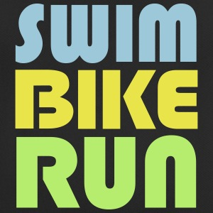 Swim Bike Run - Vektor Edition T-Shirts - Männer T-Shirt atmungsaktiv