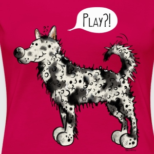 Mudi Play T-Shirts - Frauen Premium T-Shirt