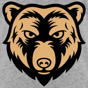 bear face 2 Shirts - Kids' Premium T-Shirt