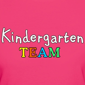 Kindergarten Team Bio T-Shirt - Frauen Bio-T-Shirt