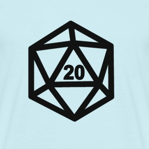 RPG Dice 20 - T-shirt Homme