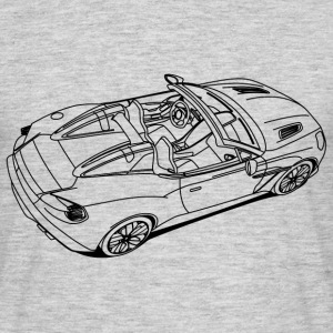 Sports Car T-shirts - Herre-T-shirt