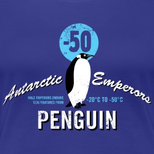Animal Planet Emperor Penguin Facts - Naisten premium t-paita