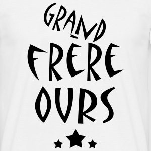 grandfrereOURS Tee shirts - T-shirt Homme