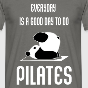 Pilates - Everyday is a good day to do Pilates     - Men's T-Shirt