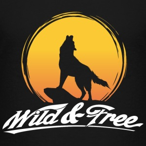 Wild and free T-Shirts - Kinder Premium T-Shirt