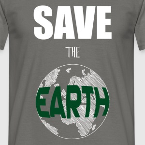 Earth - Save the earth - Men's T-Shirt
