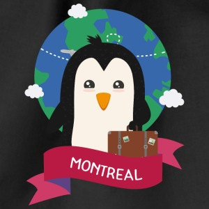 Penguin Globetrotter from MONTREAL S3956l Bags & Backpacks - Drawstring Bag
