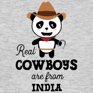 Real Cowboys are from India Ssm10m T-Shirts - Men's T-Shirt